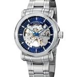 นาฬิกาผู้ชาย Stuhrling Original รุ่น 387.33116, Delphi Antium Automatic Skeleton Blue Dial