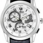 นาฬิกาข้อมือผู้ชาย Citizen Eco-Drive รุ่น BL8000-03A, Perpetual Calendar Cal. 8700 Leather Watch