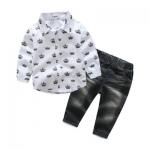 ID473- เสื้อ+กางเกง 5 ชุด /แพค ไซส์ 100-140