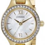 นาฬิกาผู้หญิง Citizen รุ่น EJ6092-58D, Analog Mother of Pearl Dial