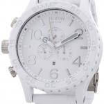 นาฬิกาผู้ชาย Nixon รุ่น A0831255, 51-30 Chronograph White Dial White PVD