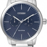 นาฬิกาผู้ชาย Citizen Eco-Drive รุ่น AO9040-52L, Multi-Dial Calendar Elegant Watch