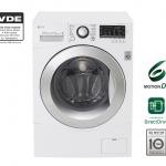 เครื่องซักผ้า ซัก+อบ LG ขนาดซัก 9 KG/อบ 5 KG ระบบ 6 MOTION,Direct Drive F1409DPRW1