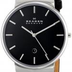 นาฬิกาผู้ชาย Skagen รุ่น SKW6104, Ancher Black Dial Quartz Men's Watch