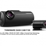THINKWARE DASH CAM F100 หน้า 1080P หลัง 720P ราคาประหยัด