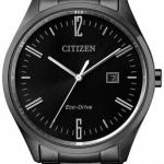 นาฬิกาผู้ชาย Citizen รุ่น BM7355-82E, Eco-Drive Black Men's Watch