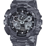 นาฬิกา คาสิโอ Casio G-Shock รุ่น GA-100CM-8A, Camouflage Series Analog Digital