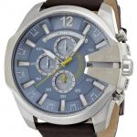 นาฬิกาผู้ชาย Diesel รุ่น DZ4281, Mega Chief Chronograph Light Blue Dial