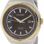 นาฬิกาข้อมือผู้ชาย Citizen Eco-Drive รุ่น AW1254-52W, Sapphire Super Titanium Dual Tone 100m