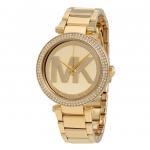 นาฬิกาผู้หญิง Michael Kors รุ่น MK5784, Parker Gold Tone Crystals Quartz Women's Watch
