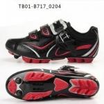 รองเท้าจักรยานเสือภูเขา TIEBAO รุ่น TB10-B717 สีดำแดง