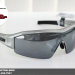 SS1 - Gloss Silver Chrome - แว่นตาจักรยาน LAZER