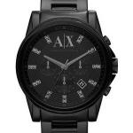 นาฬิกาผู้ชาย Armani Exchange รุ่น AX2093, Chronograph Crystals Black Dial