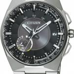 นาฬิกาข้อมือผู้ชาย Citizen Eco-Drive รุ่น CC2006-53E, Satellite Wave Air GPS Sapphire Titanium Japan