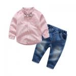 ID465- เสื้อ+กางเกง ถ ชุด /แพค ไซส์ 100-140