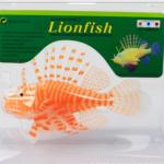 ปลาสิงโตปลอมซิลิโคลนเรืองแสงสีส้ม(ตัวใหญ่)