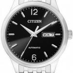 นาฬิกาข้อมือผู้ชาย Citizen Automatic รุ่น NH7500-53E, Sapphire Automatic WR 50m Elegant