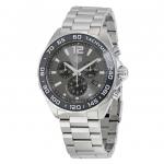 นาฬิกาผู้ชาย Tag Heuer รุ่น CAZ1011.BA0842, FORMULA 1 Chronograph Tachymeter Quartz 200M - ∅43 mm Men's Watch