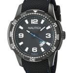 นาฬิกาผู้ชาย Nautica รุ่น NAI13511G, Quartz Black Dial Date Display