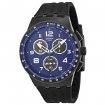 นาฬิกาผู้ชาย Swatch รุ่น SUSB402, Chrono Plastic Nitespeed Quartz Men's Watch