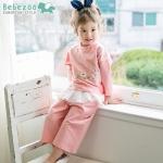 BZ251-เสื้อ+กางเกง 5 ตัว/แพค ไซส์ 90 100 100 110 110