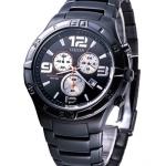 นาฬิกาข้อมือผู้ชาย Citizen รุ่น AN7089-51E, Analog Dress Chrono Black Watch