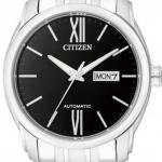 นาฬิกาผู้ชาย Citizen รุ่น NP4050-51E, Luxury Automatic Sapphire