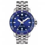 นาฬิกาผู้ชาย Tissot รุ่น T1204071104100, T-Sport Seastar 1000 Powermatic 80 300M Men's Watch