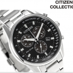 นาฬิกาผู้ชาย Citizen Eco-Drive รุ่น AT2390-58E, Citizen Collection Chronograph Tachymeter Men's Watch