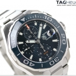นาฬิกาผู้ชาย Tag Heuer รุ่น CAY211B.BA0927, Aquaracer Chronograph Automatic 300 M - ∅43 mm Ceramic Bezel Men's Watch