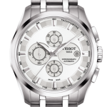 นาฬิกาผู้ชาย Tissot รุ่น T0356271103100, Couturier Chronograph Automatic Men's Watch