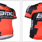 (พร้อมส่ง) เสื้อจักรยานแขนสั้น BMC