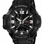 นาฬิกาคาสิโอ Casio G-Shock รุ่น GA-1000FC-1A, Twin Sensor GRAVITYMASTER