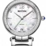 นาฬิกาผู้หญิง Rhythm รุ่น L1504S01, Diamond Sapphire L1504S 01, L1504S-01