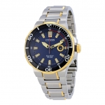 นาฬิกาผู้ชาย Citizen รุ่น AW1424-54L, Eco-Drive Endeavor Blue Dial Two-Tone Sport Watch