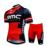 (พร้อมส่ง) ชุดจักรยานแขนสั้น BMC UCI 2015 ส่ง EMS ฟรี