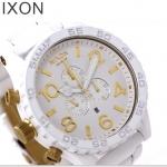 นาฬิกาผู้ชาย Nixon รุ่น A0831035, 51-30 CHRONO WHITE/GOLD
