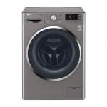 เครื่องซักผ้าฝาหน้า LG แบบซักอบ ขนาดซัก 10.5 KG / อบ 7 ระบบ 6 MOTION ,INVERTER DIRECT DRIVE รุ่น FC1450H2E