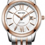 นาฬิกาผู้หญิง Rhythm รุ่น G1304S05, Sapphire General Collection Dual Tone G1304S 05, G1304S-05
