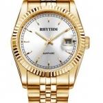 นาฬิกา ชาย - หญิง Rhythm รุ่น R1201S05, Traditional Oyster Sapphire Gold R1201S 05, R1201S-05