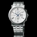 นาฬิกาผู้ชาย Seiko รุ่น SNAF73P1, Premier Chronograph Alarm