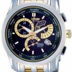 นาฬิกาข้อมือผู้ชาย Citizen Eco-Drive รุ่น BL8005-77E, Perpetual Calendar Sapphire Japan