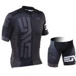 ชุดปั่นจักรยาน 2015DNA ENVE สีดำ