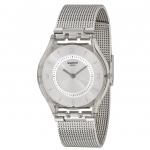 นาฬิกาผู้หญิง Swatch รุ่น SFM118M, Metal Knit