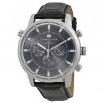 นาฬิกาผู้ชาย Tommy Hilfiger รุ่น 1790875, GMT Grey Dial Stainless Steel