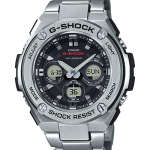 นาฬิกาคาสิโอ Casio G-Shock รุ่น GST-S310D-1A, G-Steel Tough Solar Analog Digital Men's Watch
