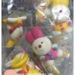 ตุ๊กตาไอซิ่ง กระต่าย 4 cm ตุ๊กตาน้ำตาลไอซิ่ง icing