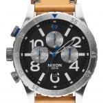 นาฬิกาผู้ชาย Nixon รุ่น A3631602, 48-20 Chrono Leather