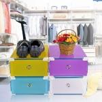 กล่องใส่รองเท้าแบบลิ้นชัก สำหรับรองเท้าผู้ชาย ขนาด 34 x 22 x 13 เซนติเมตร