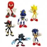 ิฟิคเกอร์ Sonic ชุด 6 ตัว ขนาด 2.5 นิ้ว (B)
